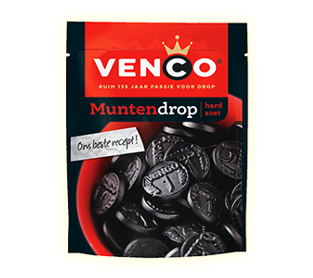Venco Munten Drop 157g