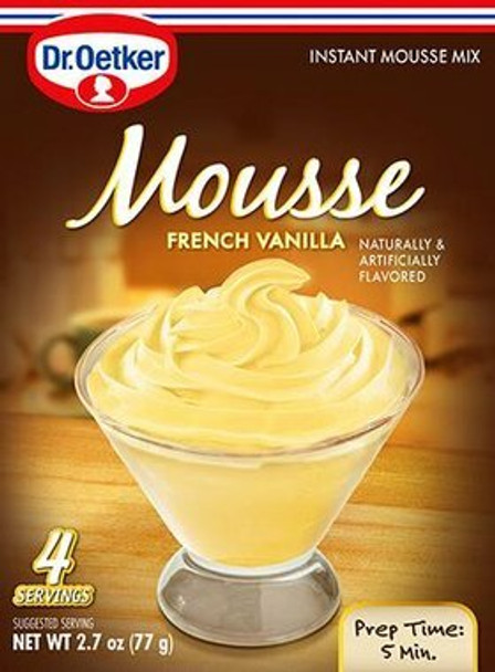Dr. Oetker French Vanilla Mouse 2.4oz (69g)