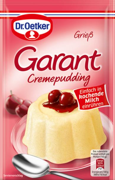 Dr. Oetker Garant Cremepudding  80g