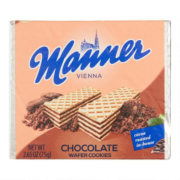 Manner Chocolate Wafer Cookies