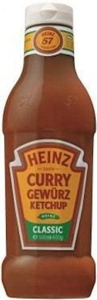 Heinz Curry Gewurz Ketchup 650g