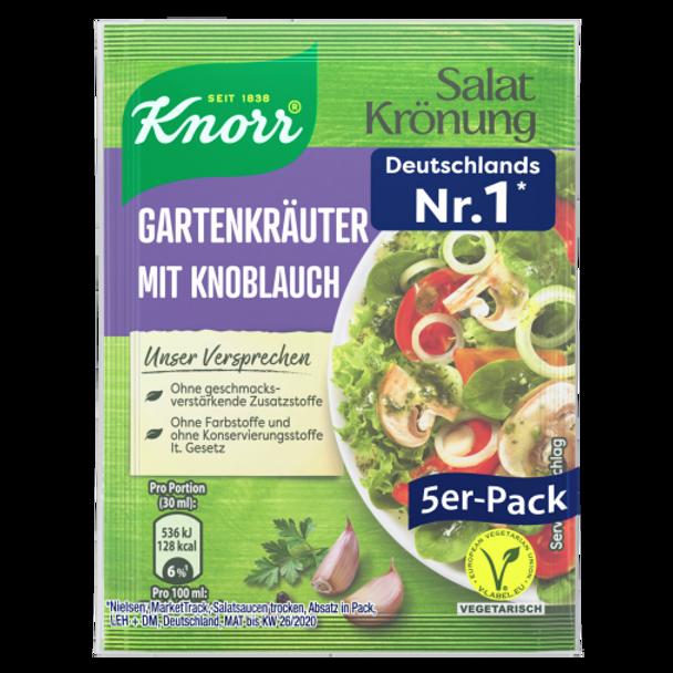 Knorr Salat Kronung Gartenkrauter Mit Knoblauch (5 pack)