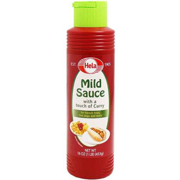 Hela Mild Sauce with a touch of curry