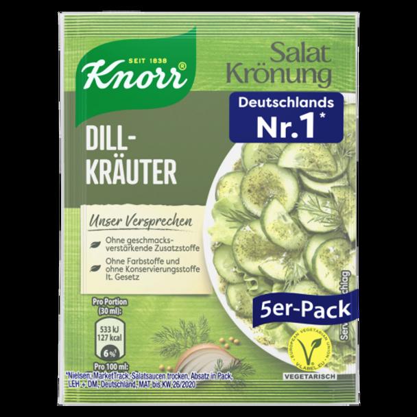 Knorr Salat Kronung Dill Kräuter (5pack)