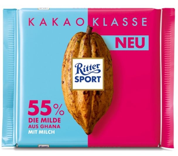 Ritter Sport Cacao Selection Dark Chocolate 100g