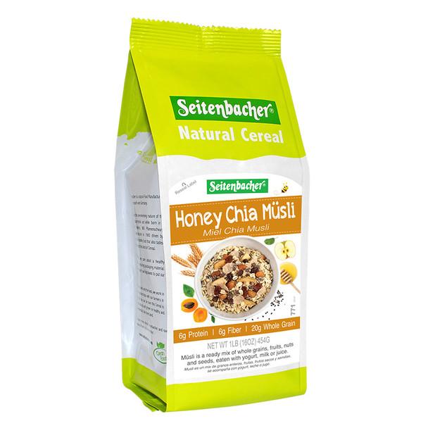 Seitenbacher Honey Chia Müsli Natural Cereal 454g