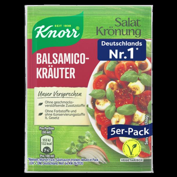 Knorr Salat Kronung Balsamico-Kräuter (5 pack)
