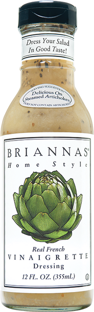 It's no secret the French know a thing or two about fine dining and great tastes. So we looked to them for inspiration when creating our Real French Vinaigrette Salad Dressing. Carefully blending the perfect balance of vinegar, oil and seasonings, the result is a premium, sugar-free vinaigrette. You'll love this classic recipe on virtually any green salad or vegetable salad. What's more, its versatility shines through when you try it as a delicious marinade for grilled meats, poultry and seafood. And the taste? How you say … magnifique?!