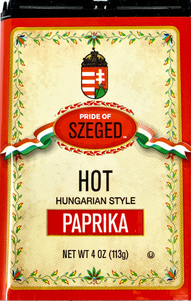 Pride Of Szeged HOT Hungarian Style Paprika 113g
