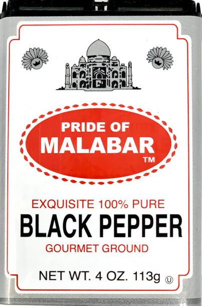 Pride Of Szeged Malabar Gourmet Ground Black Pepper 113g