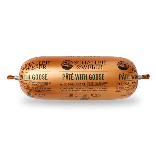 Schaller & Weber - Pâté with Goose 7oz Each