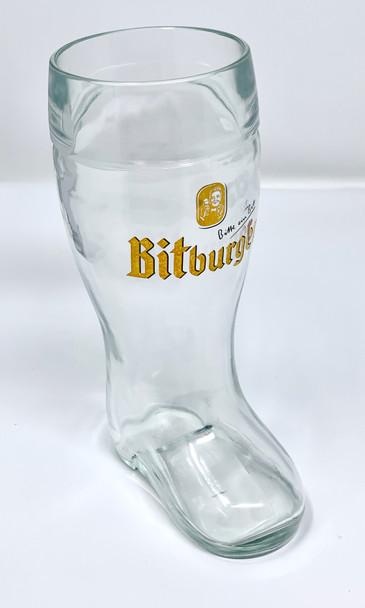 Bitburger Beer Boot 20oz