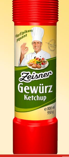 Zeisner Gewurz Ketchup 800ml