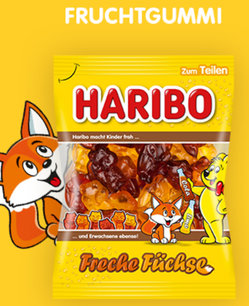Haribo Freche Fuchse