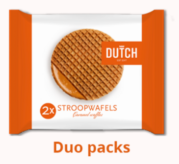 Dutch 2X Stroopwaffels 80g
