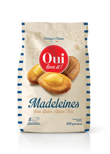Oui Madeleines Gluten Free 240g