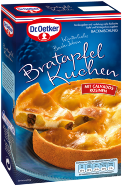 Dr. Oetker Bratapfel Kuchen 415g