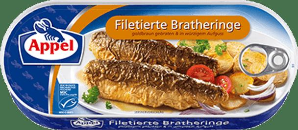 Appel Filetierte Bratheringe 325g
