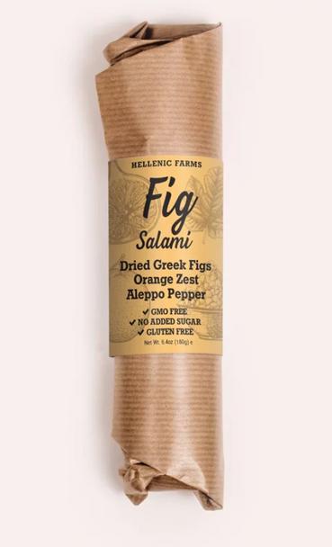 Hellenic Farms Fig Salami  W/ Orange Zest 6.4oz (180g)