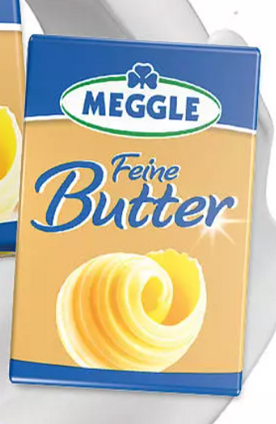 Meggle Feine Butter 4.38oz (125g) (refrigerated)