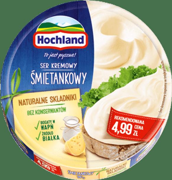 Hochland Smietankowy Creamy Cheese 7oz (200g) (refrigerated)