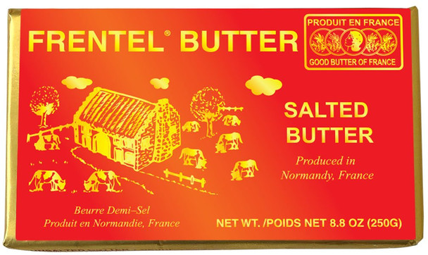 Frentel Salted Butter 8.8oz (250g)(refrigerated)