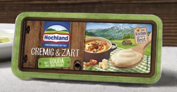 Hochland Cremig & Zart 7oz (200g) (refrigerated)