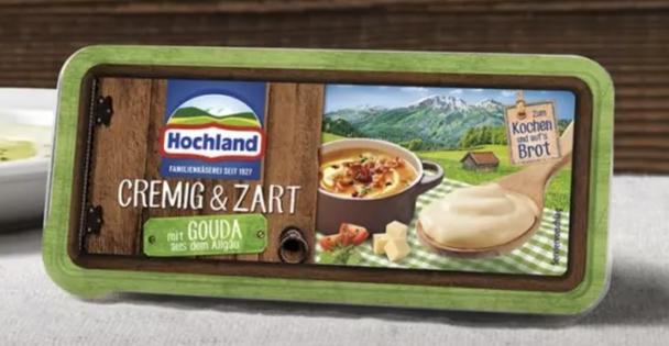 Hochland Cremig & Zart 7oz (200g) (refrigerated)