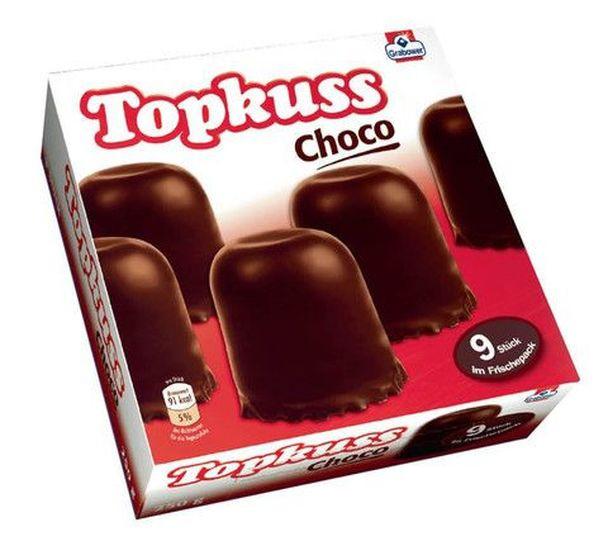 Grabower Topkuss Choco 9 pcs. 250g