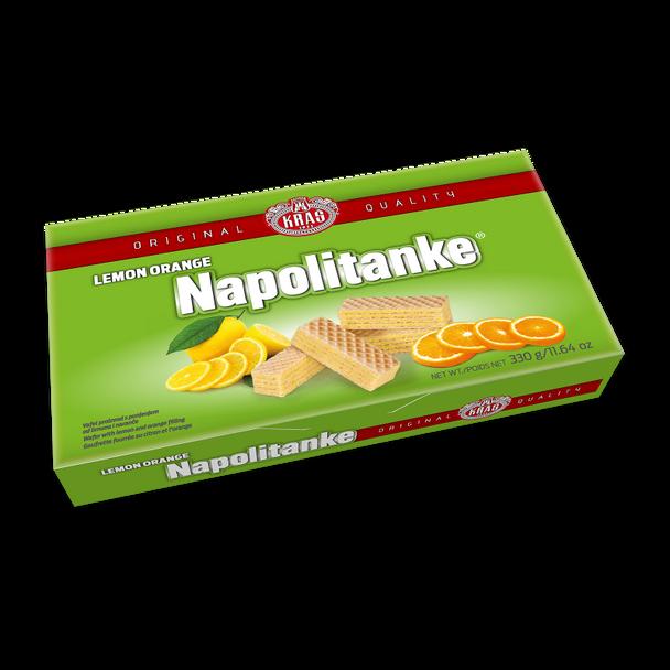 Napolitanke Lemon Orange Wafers 330g