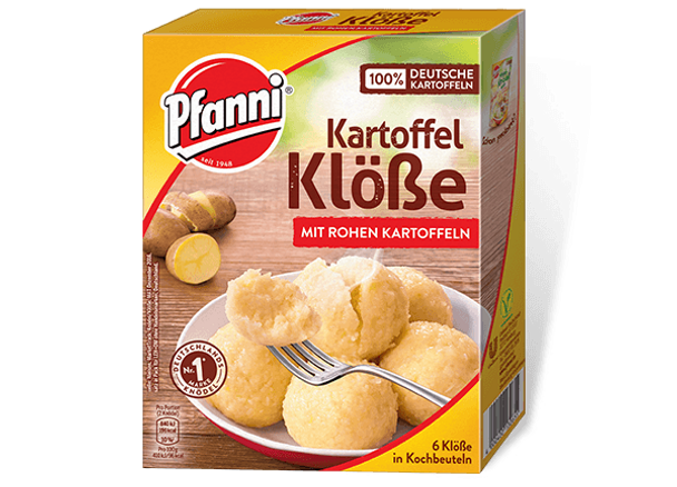 Pfanni Kartoffel Klobe Mit Rohen Kartoffeln 200g