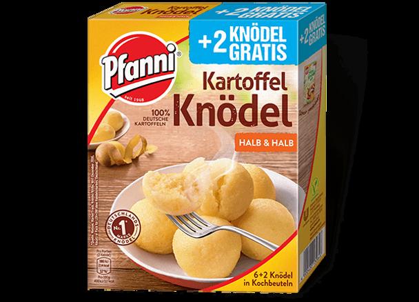 Pfanni Kartoffel Knodel Halb & Halb  200g