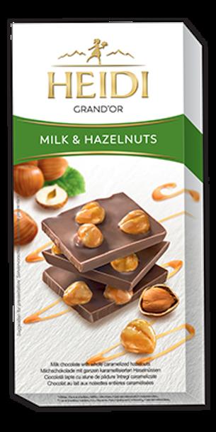 Heidi Grand'Or Milk & Hazelnuts 100g