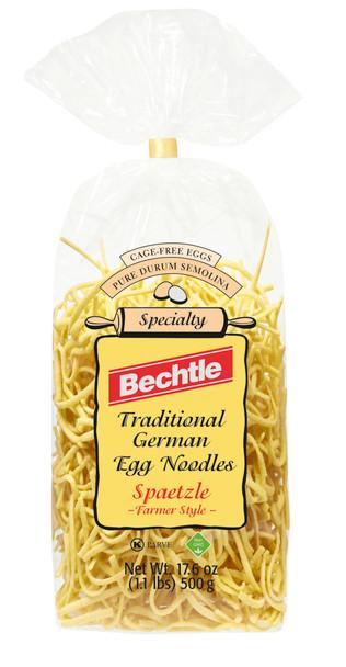 Bechtle Egg Noodles Spaetzle Farmers Style 17.6oz (500g)