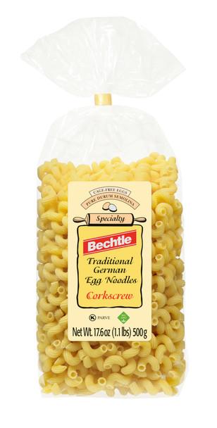 Bechtle Egg Noodles Cork Screw Style 17.6oz (500g)