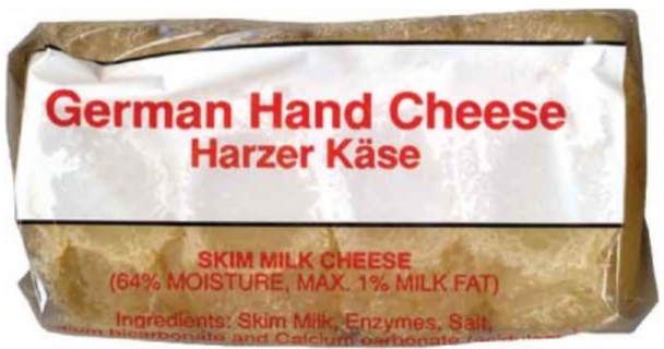 Birkenstock Harzer Kase (German Hand Cheese) 4pcs 7oz.