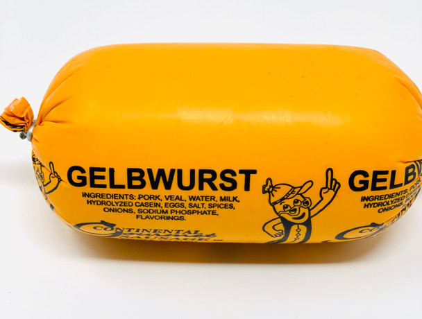 Gelbwurst Specialty with spices  12oz each