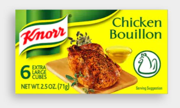 Knorr Chicken Bouillon 60g
