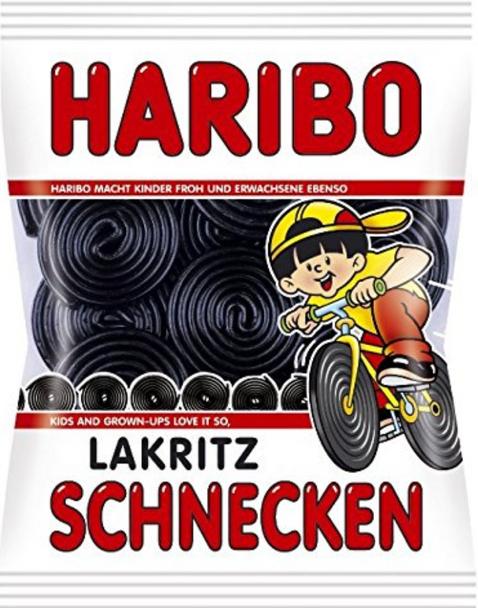 Haribo - Lakritz Schnecken 200g