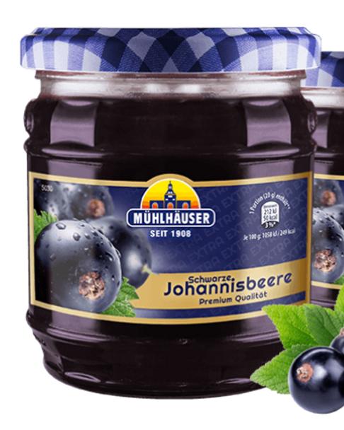 Muhlhauser Johannisbeere Jam 16oz (450g)