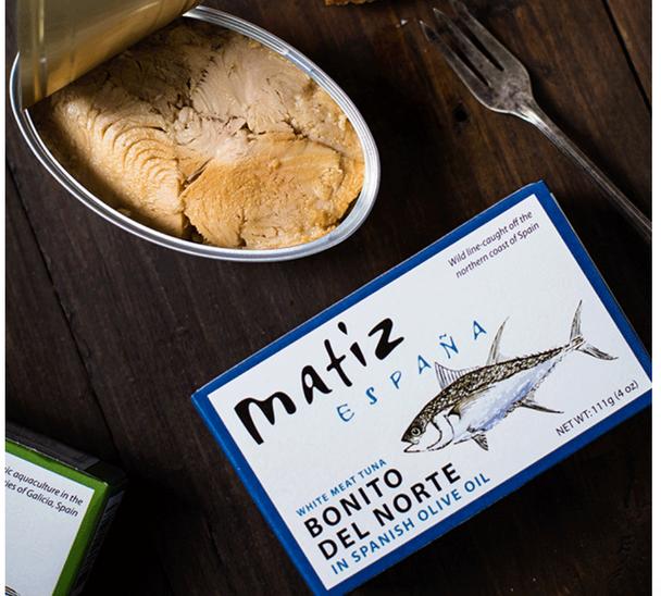 Matiz Bonita Del Norte (white meat tuna) 4oz (111g)
