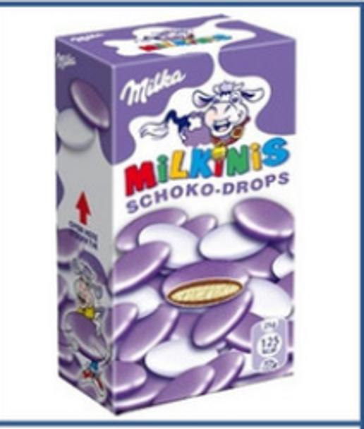 Milka Milkinis Schoko-Drops 1.48oz (42g)