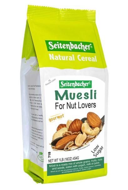 Seitenbacher Muesli for Nut Lovers 16oz (454g)