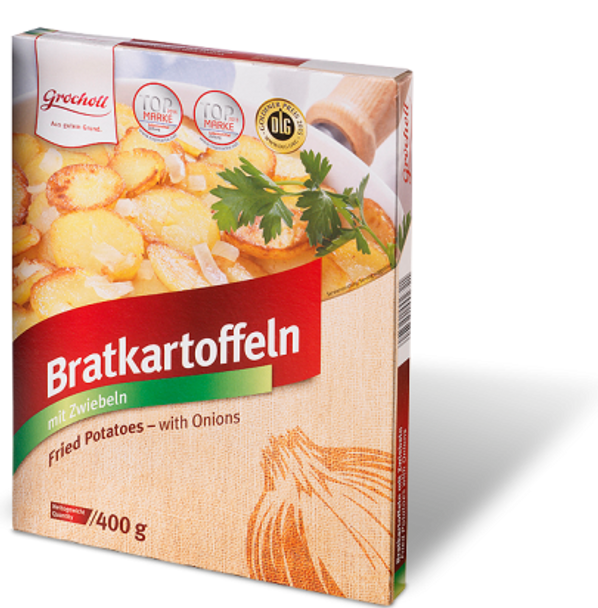 Grocholl Fried Potatoes with Onions 14oz (400g)