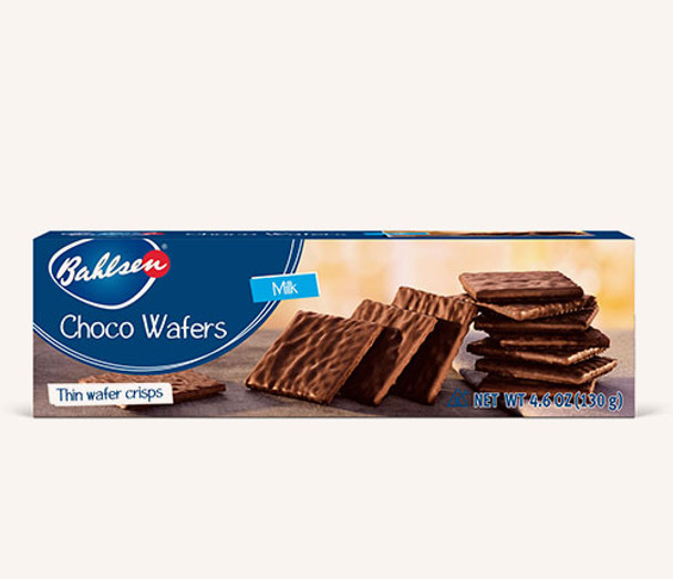 Bahlsen Choco Wafers covered with Milk Chocolate 4.6oz (130g)