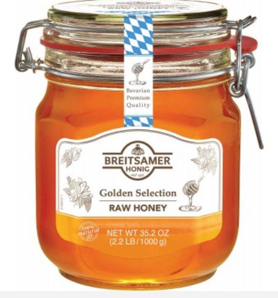 Breitsamer Honig Golden Selection Raw Honey 35oz (1000g)