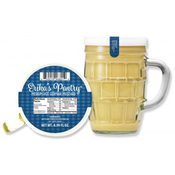 Erika's Pantry Medium Hot German Mustard 8.9oz