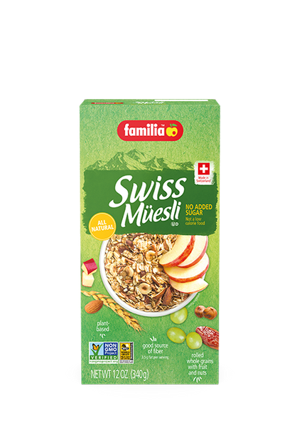 Familia Swiss Müesli All Natural Cereal 12oz (340g)