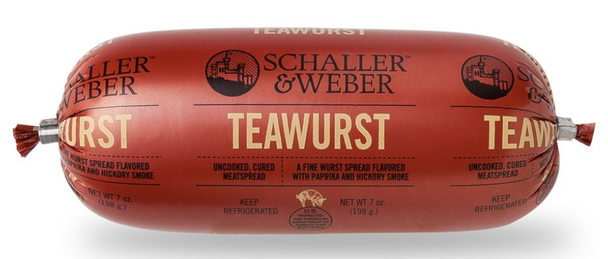 Schaller & Weber - Teawurst 7oz (198g)