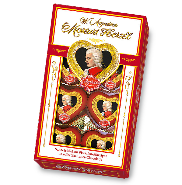 Reber MOZART HEARTS 2.8oz (80g)